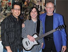 Very first Re-Issue Silvertone Guitar Presented to Jack Pearson